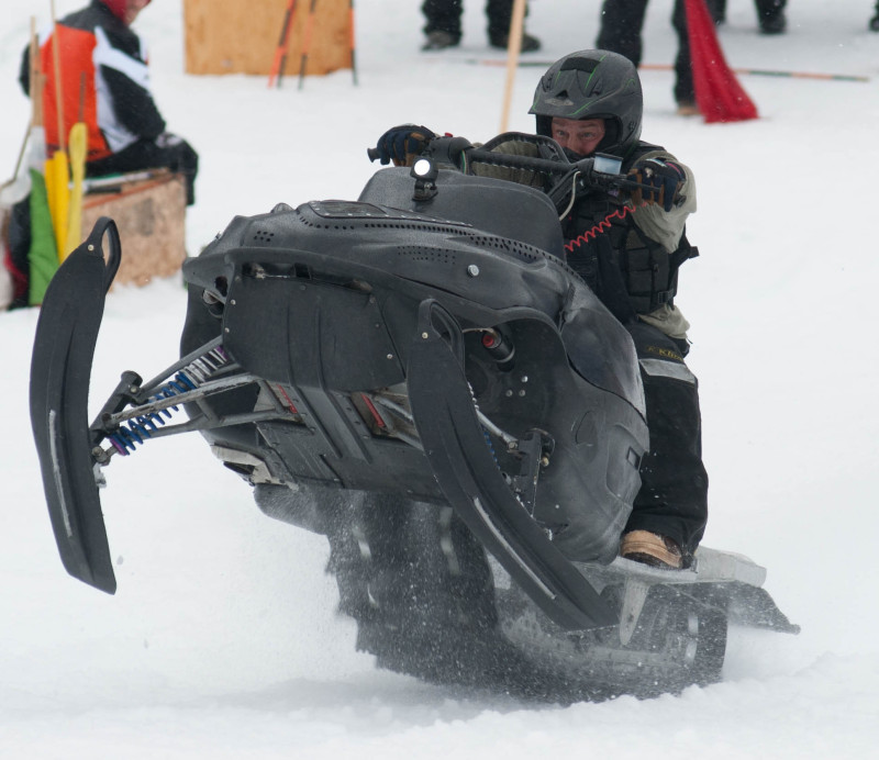 Hypothermia, Photography and Iron Dog Snowmobile Race