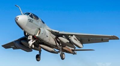 An EA-6B Prowler's Final Flight