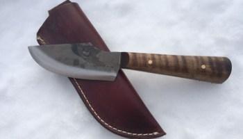 Jeff White Thumb Skinner Knife