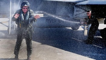 US Navy's Oldest Active Fighter Pilot Retires