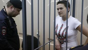"Ukraine's Own ""Joan of Ark"" Nadiya Savchenko Kidnapped By Russians"