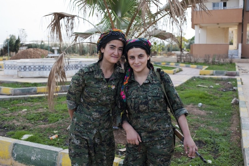 Fighters of Rojava