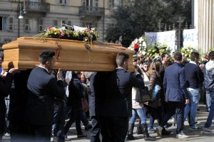 Funeral of italians victims in Turin