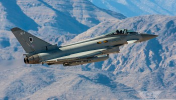 Tranche 1 Typhoons To Be UK Alert Force