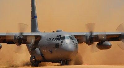 Dirt Qualified: Maximum Effort Landings in the C-130