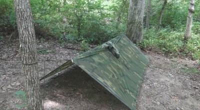 SERE Survival: Low Profile Poncho Shelter