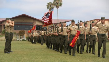 1st Force Recon CO Addresses New Recon Marines