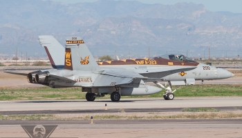 Marine Corps F/A-18s Make Emergency Landing In Taiwan, China Issues Warning to U.S.