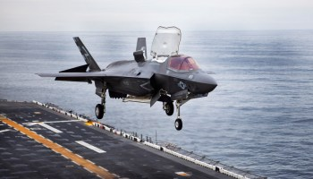 Six Marine Corps F-35Bs Go To Sea