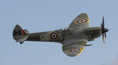From The Cockpit: 92-Year-Old Flies Spitfire Again