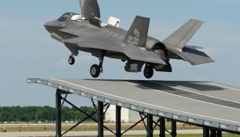 F-35B Conducts First Ski-Jump Takeoff