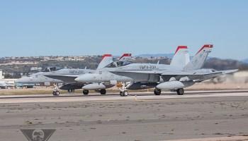Update: USMC Identifies F-18C Pilot From Thursday Fatal Crash