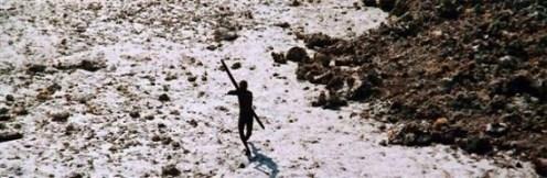 Sentinelese arrow attack