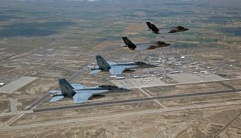 Grim Reapers F-35Cs Visit Topgun