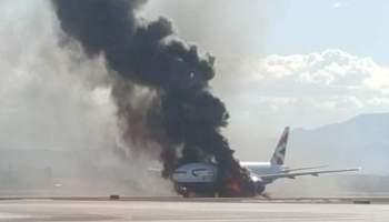 BREAKING: British Airways Jet Catches Fire On Takeoff