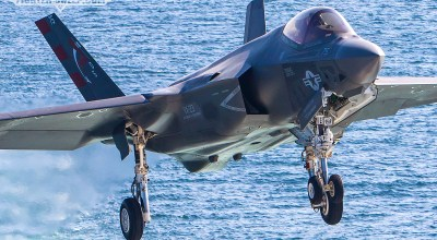 Feet Wet: F-35C DT-II aboard the Mighty Ike!