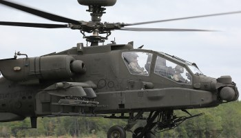 BREAKING: AH-64D Apache Down