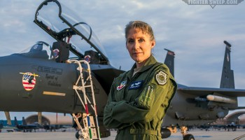 "Another ""First"" For USAF's First Female Fighter Pilot"