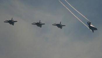 F-35s At Lockheed-Martin Armed Forces Bowl!