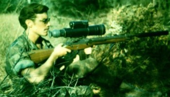 The Vietnam Marine with more confirmed kills than Carlos Hathcock
