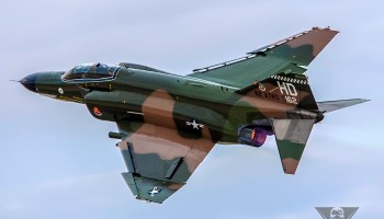 Burner Friday: QF-4E Tribute To Robin Olds