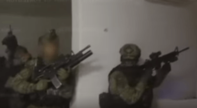 El Chapo's Goon Squad Gets Gassed Up by Mexican Marines (Video)