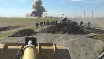 Peshmerga Fighters Destroy ISIS Vehicle-Borne IED