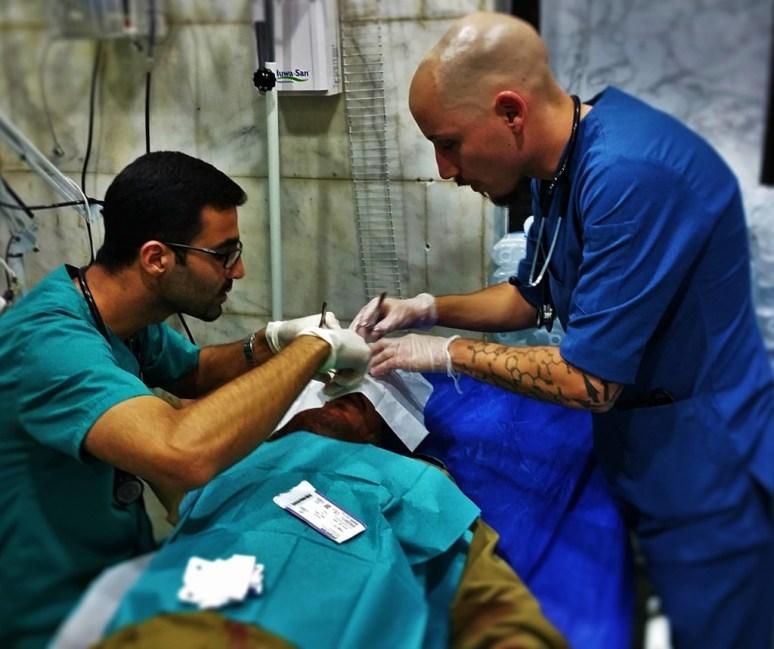 Shadows of Hope: The medics who shoot back
