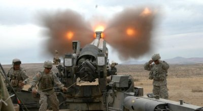 U.S. Army seeks to modify old weapon systems: Anti-Ship Howitzers & Anti-Air Strykers