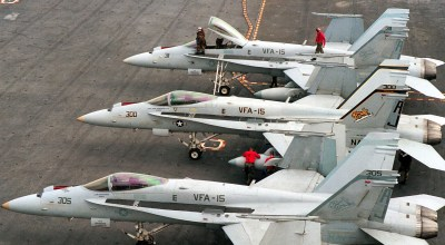 Navy To Lose Entire Carrier Air Wing in FY 2017