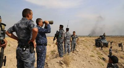 Iraqi federal police destroy ISIS infiltration tunnel