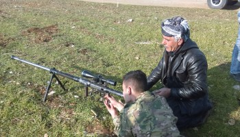 Exclusive: Watch Peshmerga snipers in action (video)