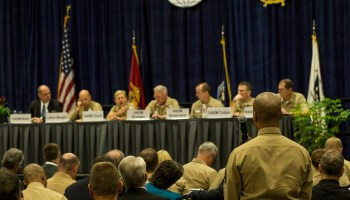 Marine Corps leaders hold conference on new strategies and guidance