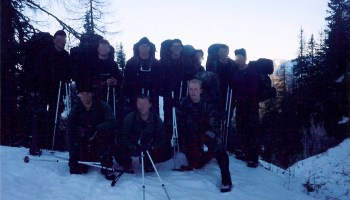 SEAL platoon training at Slovenia's Mountain Warfare School