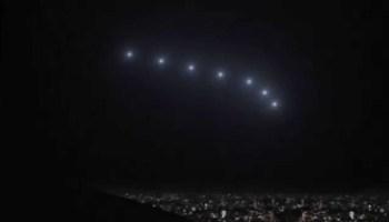 Air Force Aviator Leaks Dramatic UFO HUD Video