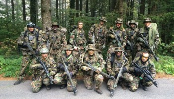 SOFREP video exclusive: Back on the ground with the Swiss militia