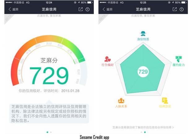Sesame Credit App