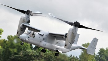 More Ospreys for Air Force spec ops