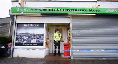 Scotland police probe killing of Muslim shopkeeper who posted Facebook Easter message to Christians