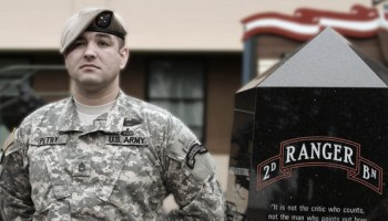 Watch: Medal of Honor recipient SFC Leroy Petry talks about saving his fellow Rangers