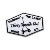 """Mowing the lawn"" Patch"