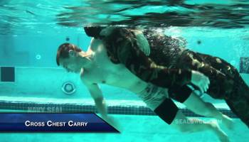 Watch as SWCC special boat teams take water rescue test