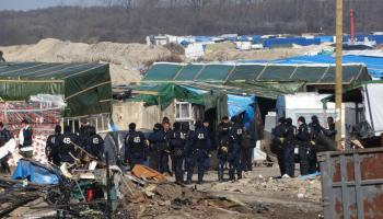 The Jungle: France's infamous refugee camp