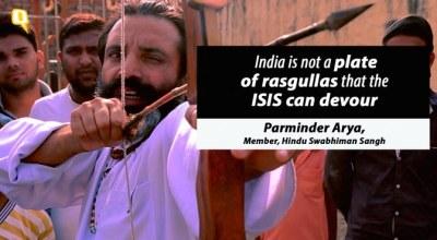 Watch: Hindu children preparing to fight ISIS