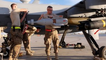 US drone strikes outnumber warplane attacks for first time in Afghanistan