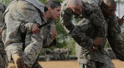 Meet the Army's first female infantry officer