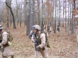Dismounted raid Ft Campbell 2006