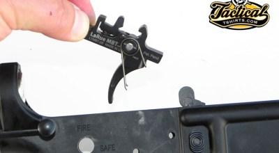 Lightening The AR Trigger Pull