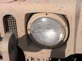 Damage to headlight