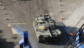 U.S. Ships Armored Brigade Combat Team to Georgia for NATO Response Exercise